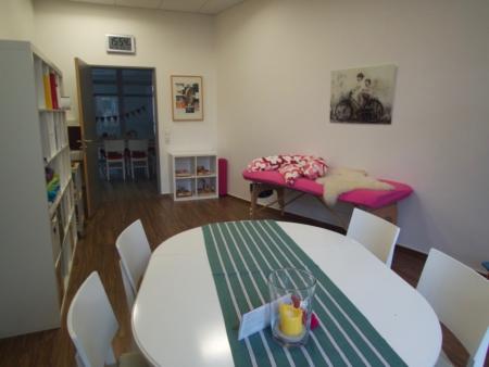 Beratungsraum Hebammen im Familienzentrum Esslingen