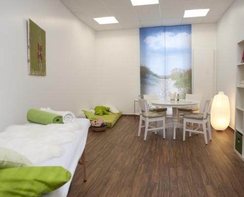 Behandlungs- und Besprechungsraum Familienzentrum Esslingen